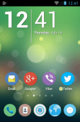 Numix Circle Icon Pack BLU Vivo Air LTE Theme