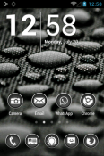 Phoney White Icon Pack Sony Xperia L3 Theme