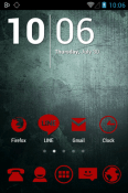 Download Free Stamped Red Icon Pack Mobile Phone Themes