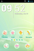 Daisy In Rainbow Icon Pack Android Mobile Phone Theme