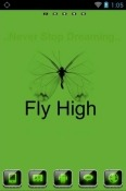 Fly High Go Launcher BLU M8L Plus Theme