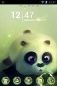 Panda And Bubbles Go Launcher BLU M8L Plus Theme