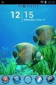 Underwater Life Go Launcher BLU M8L Plus Theme