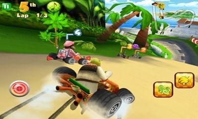 Shrek kart Android Game Image 1