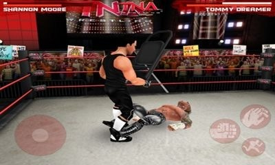 TNA Wrestling iMPACT Android Game Image 2