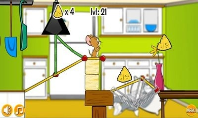 Tom and Jerry in Rig-A Bridge Android Game Image 1