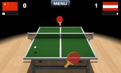 Virtual Table Tennis 3D Android Game Image 1