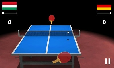 Virtual Table Tennis 3D Android Game Image 2