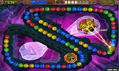 Zuma Revenge Android Game Image 1