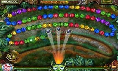 Download Free Android Game Zuma Revenge 1562