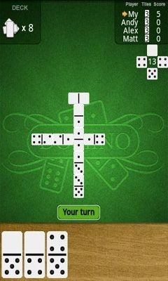 Dominoes Deluxe Android Game Image 1