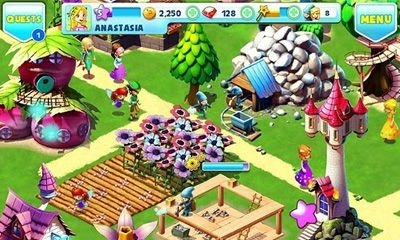 Fantasy Town Android Game Image 1