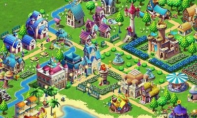 Fantasy Town Android Game Image 2