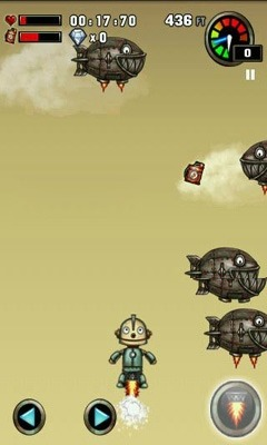 Robot Adventure Android Game Image 2