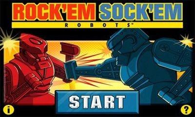 Rock 'em Sock 'em Robots Android Game Image 1