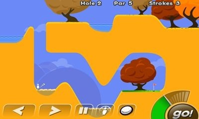 Super Stickman Golf Android Game Image 1