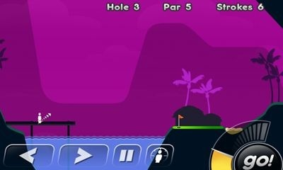 Super Stickman Golf Android Game Image 2