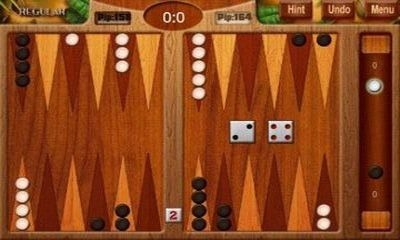 Backgammon Deluxe Android Game Image 1