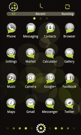Bubble GO Launcher EX Android Theme Image 2