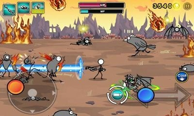 Cartoon Wars: Gunner+ Android Mobile Phone Game Image 1