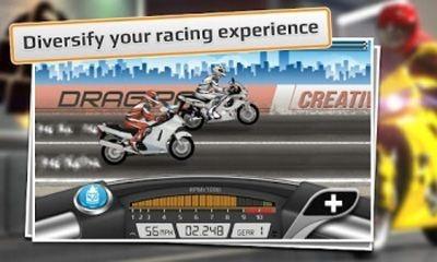 Drag Racing. Bike Edition Android Game Image 1