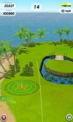 Flick Golf Android Game Image 1
