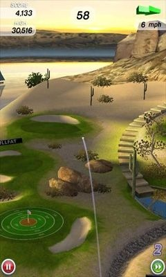 Flick Golf Android Game Image 2
