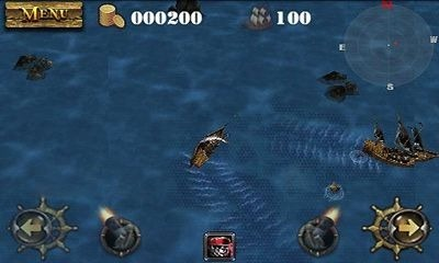 Pirates 3D Cannon Master Android Game Image 1