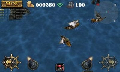 Pirates 3D Cannon Master Android Game Image 2