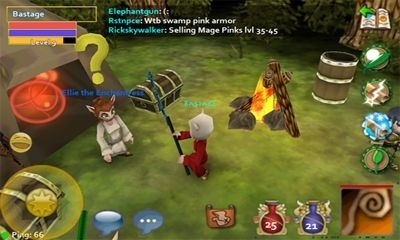 Pocket Legends Android Game Image 2