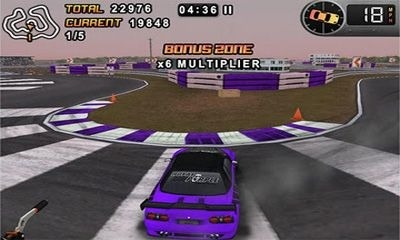Drift Mania Championship Android Game Image 1