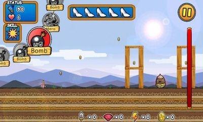 Princess Punt. Kicking My Hero Android Game Image 1