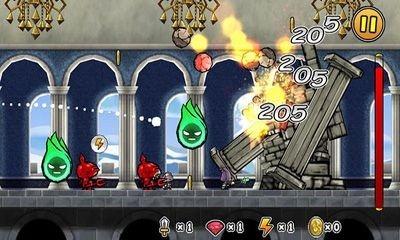 Princess Punt. Kicking My Hero Android Game Image 2