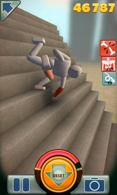 Stair Dismount Android Game Image 2