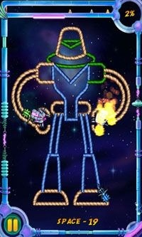Burn the Rope Worlds Android Game Image 1