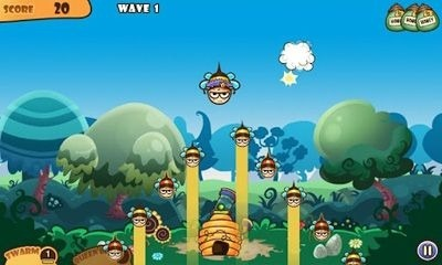 Honey Battle - Bears vs Bees Android Game Image 1