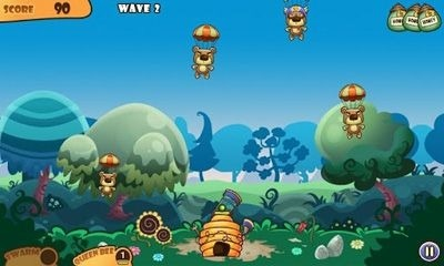 Honey Battle - Bears vs Bees Android Game Image 2