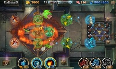 Lair Defense Shrine Android Game Image 2