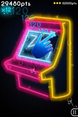 Neon Mania Android Game Image 2