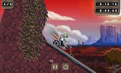 Zombie Rider Android Game Image 1