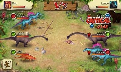 Dinosaur War Android Game Image 1
