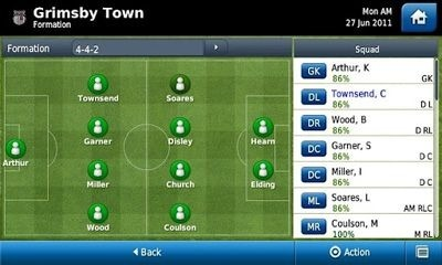 Football Manager Handheld 2012 Android Game Image 2