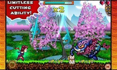 Ninja Slash! Android Game Image 2