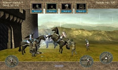 1096 AD Knight Crusades Android Game Image 1