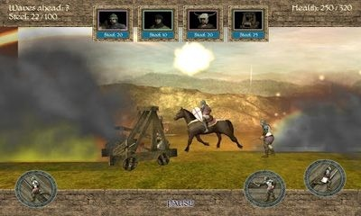1096 AD Knight Crusades Android Game Image 2