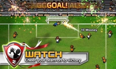 Big Win Soccer Android Game Image 1