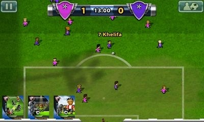 Big Win Soccer Android Game Image 2