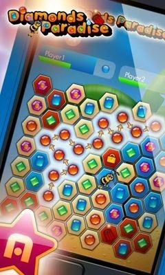 Diamonds Paradise Android Game Image 1