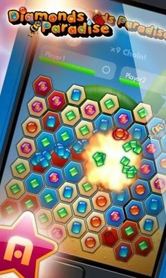 Diamonds Paradise Android Game Image 2