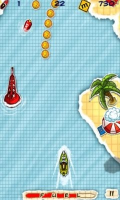 Doodle Boat Android Game Image 1